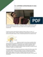 Medir Conciencia y Actividad Cerebral Durante El Coma