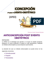 ANTICONCEPCIÓN OBSTETRICIA