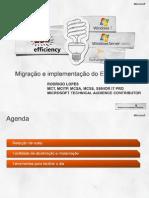 Migração e implementação do Exchange 2010