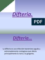 Cuidados de Enfermeria de Difteria