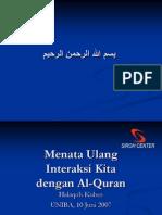 Interaksi Dg Al-Quran