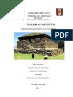 Trabajo Monografico - Huaraz