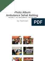 Photo Album Aksi Ambulance Sehat Keliling