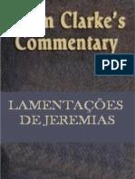 ADAN CLARKE -  Lamentações de Jeremias