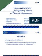 Activities of OECD_NEA