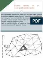 2.2 Formulacion Directa