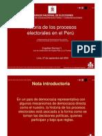 procesos electorales- ONPE