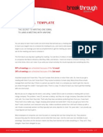 Cold Email Templates