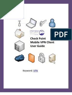 Latest Checkpoint Vpn Client