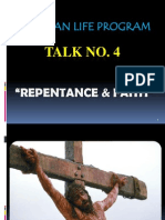 CLP Talk 4. Repentance and Faith