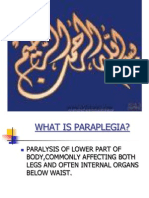 Approach to a Patient With Paraplegia