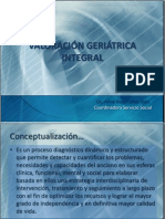 Valoracion Geriatrica Integral 2012