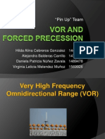 VOR and Forced Precession