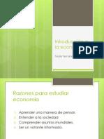 2. Introducción a la economía