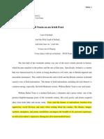 Bitish Poetry Term Paper