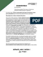 DeclaraciónPúblicaParoAPU