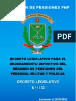 Dec Leg 1133 Ordenamiento Definitivo Pensiones Ffaa y Pnp