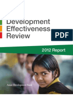 2012 Development Effectiveness Review
