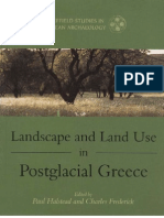 Landscape and Land Use in Postglacial Greece
