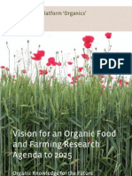 Vision for an organic food