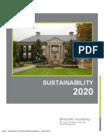 Sustainabiliy 2020