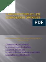 Diapo_architecture Et Les Composants Optiques