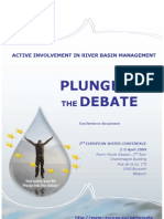 II European Water Conference Basic Document