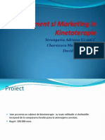 Management Si Marketing in Kinetoterapie