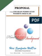 Proposal Penawaran Website Sekolah Dan Instansi
