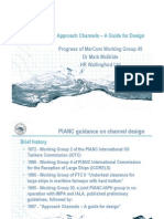 PIANC Presentation on Approach channel