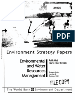 Environment and WRM WB 2001