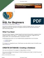 SQL for Beginners _ Nettuts