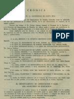 - Cronica - Vida Filosofica en La Universidad de Costa Rica Revista de Filosofia Vol.1 No.2