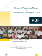 SSFP Finance and Accounting Manual