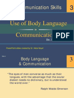 Body Language Summary 2
