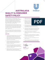 Unilever Policies-Quality & Consumer Safety_tcm72-323611