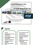 Mining Industry presentations