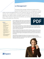 Aspect eWorkforce-Management Brochure