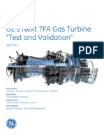 7fa gas Turbine from GE