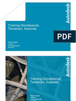 C3D Grading Volumes