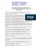 TCVN - VI SINH VAT (07.100.30) cập nhật 26-3-2011