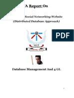 SamPra - Social Networking Website - DBMS Project