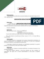 Statuts ACR276