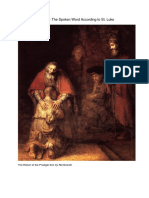 Jesus - The Spoken Word According to St. Luke
