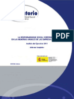 Informe MemoriasRSC 2011 Completo