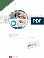 Gtz2010 en Evaluation Report Analysis 2008 2009