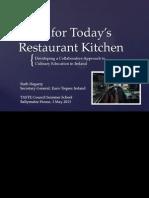 skills for todays restaurant kitchen-ruth hegartyeuro-toques