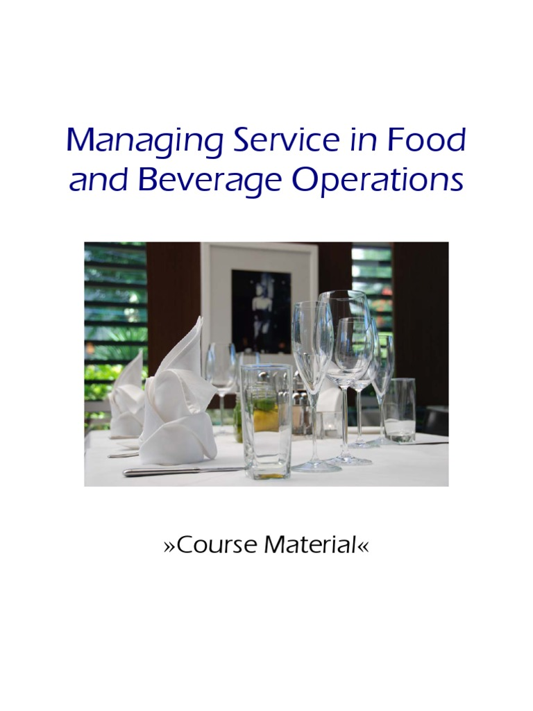 Managing Service In Food And Beverage Operations 50 | Chef | Empowerment