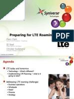 LTE Roaming BARG Workshop