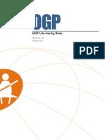 OGP Life-Saving Rules 459